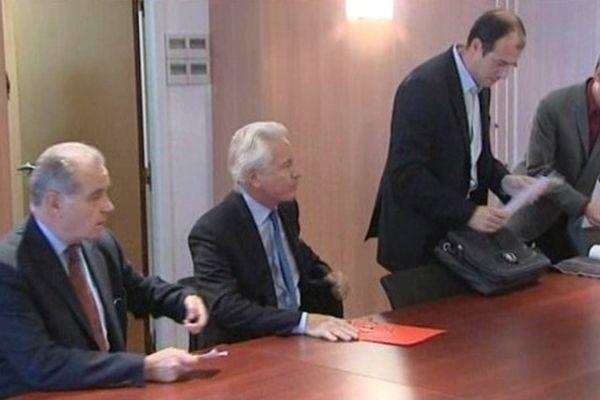 Eugène Caselli a présidé la réunion technique organisée en urgence ce matin à MPM.