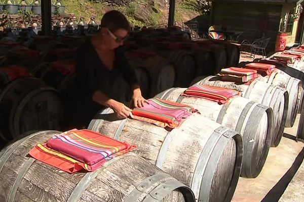 Le domaine de la guinelle où Nathalie Lefort produit du vinaigre.