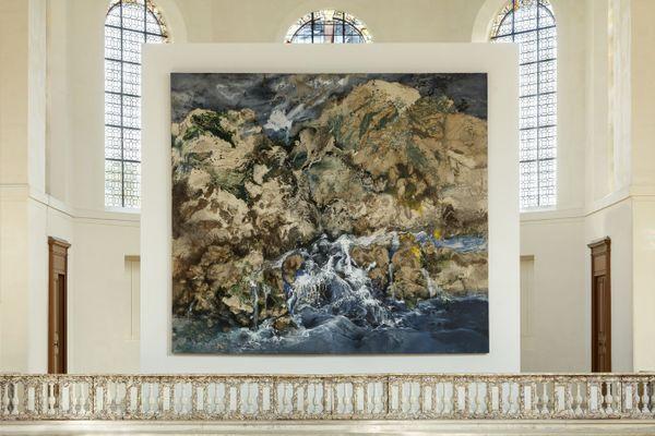 Paysage espagnol (Vegas del condado) (455x515) de Paul Rebeyrol exposé dans la Chapelle de l'ancien hôpital Laennec, à Kering