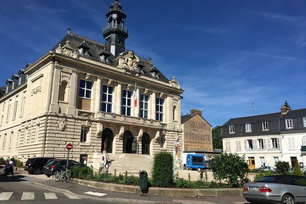 La mairie de Vernon (en 2019)