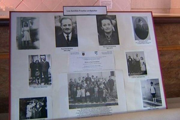 Remise de médaille à titre posthume aux époux Fourtier à Courbouzon (Jura)