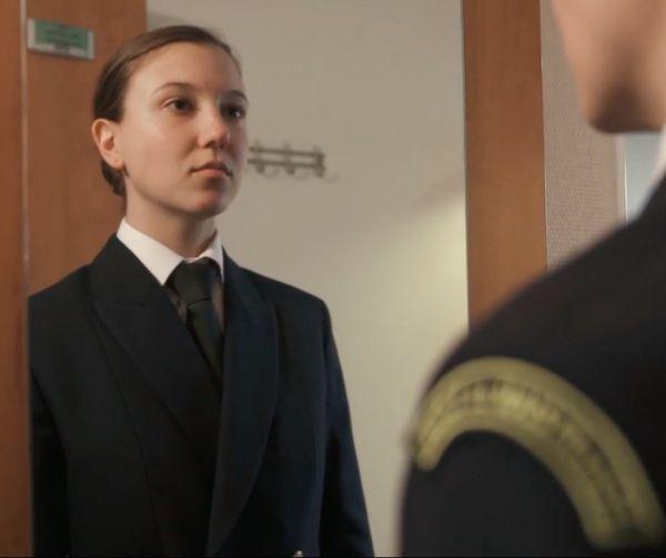 Essayage des uniformes de la Marine nationale