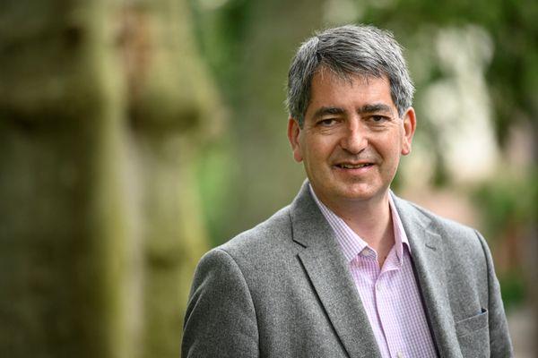 Jean Rottner (LR) président sortant de la région Grand Est, remporte les élections régionales dimanche 27 juin 2021.