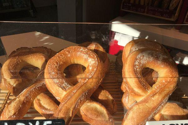 """En 10 jours, la boulangerie """"la Grange au pain"""" de Montigny-les-Metz a reversé 150 euros à l'association Aides."""