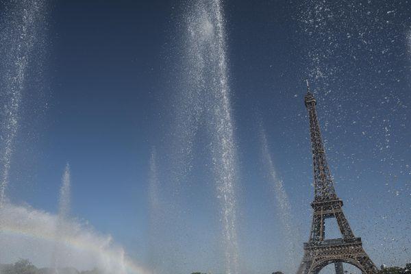 Paris, le 6 août 2018, en plein épisode de canicule.