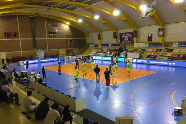 Une salle Vanpoulle vide pour le match de reprise contre les Spacers de Toulouse.