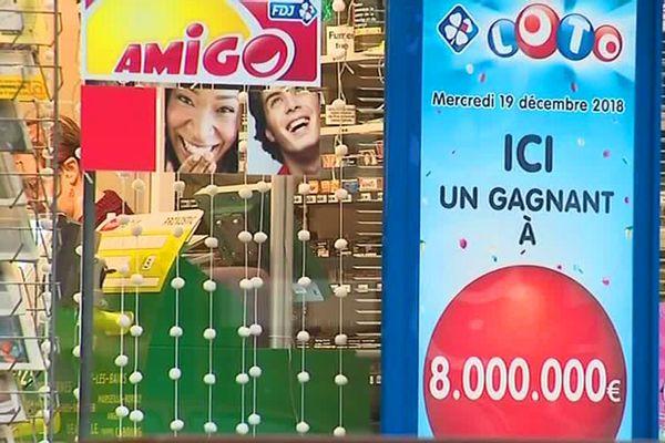 8 millions d'euros gagnés à Annezin (Pas-de-Calais)