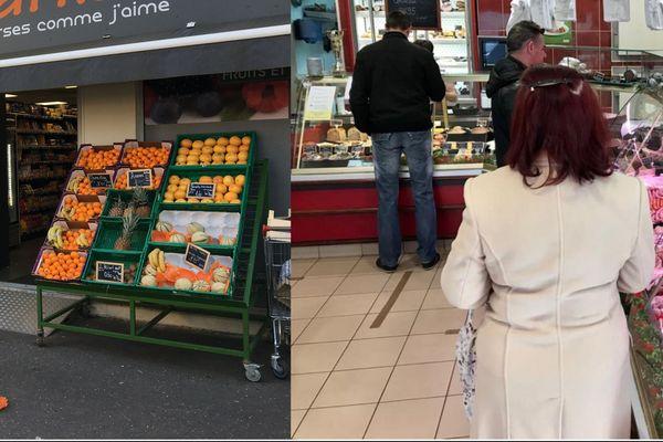 L'épicerie du quartier Vaucelles de Caen ou encore la boucherie Chauveau de Mondeville répondent aux besoins de leurs clients depuis le début du confinement.