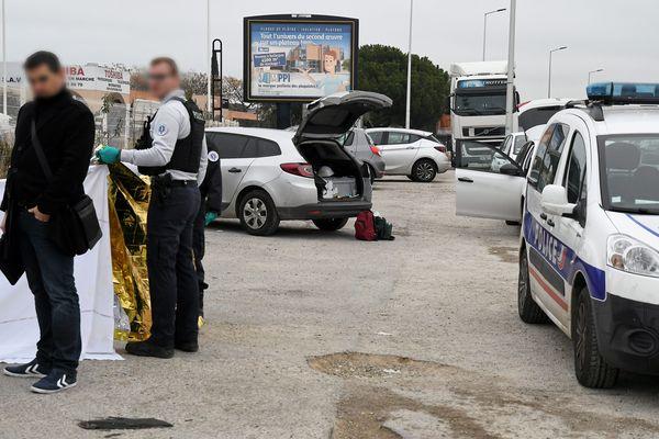 Montpellier - La jeune femme a été retrouvée morte, au volant de sa voiture, mercredi 1e janvier 2020 près de la discothèque L'Entrepot - 1er janvier 2020.