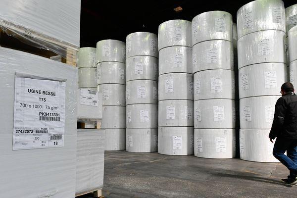 L'usine de papiers Arjowigins a été liquidé en mars 2019.