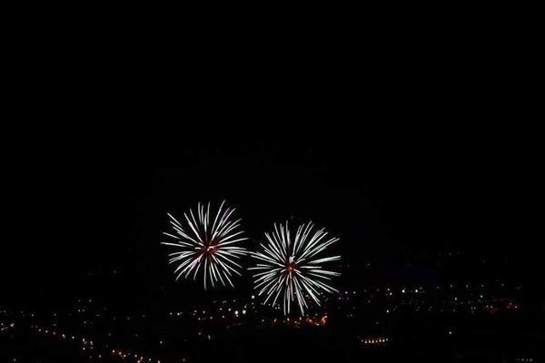 Le feu d'artifice de Obernai.