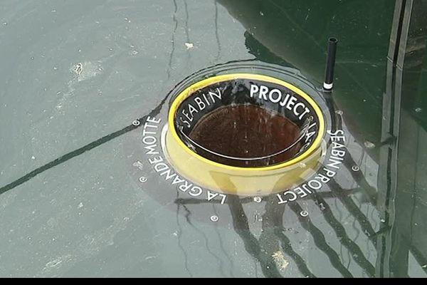 Le port de la Grande Motte est le premier à expérimenter la poubelle Seabin pour dépolluer le littoral - 26 avril 2017