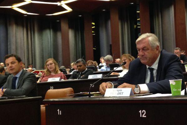 François Sauvadet, président du groupe de la droite et du centre au conseil régional de Bourgogne-Franche-Comté