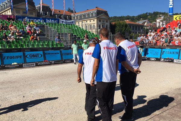 L'équipe de France profite de ces masters de pétanque pour préparer les championnats du Monde