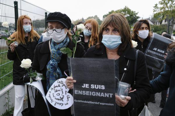 Image d'illustration. Des initiatives en hommage à Samuel Paty émergent dans toute la France.