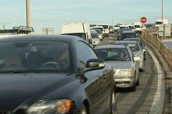 Marseille embouteillée