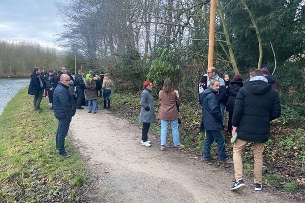 Une battue était organisée ce samedi après-midi pour tenter de retrouver Cécile Lavisse.
