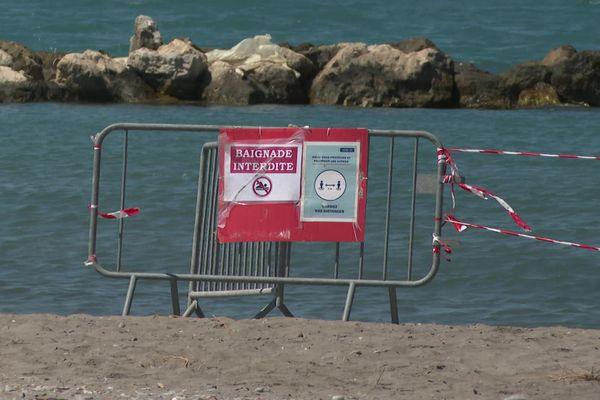 La commune de Saint-Laurent-du-Var compte 5 plages, l'une d'elles est fermée pendant tout l'été.