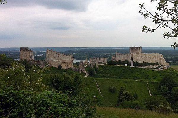 Le château Gaillard aux Andelys (27).
