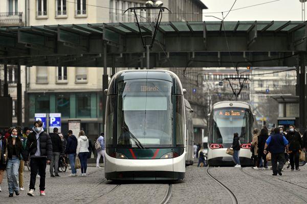 Ce lundi en milieu d'après-midi, un tramway a percuté un homme à vélo sur la ligne B à Strasbourg - 20 septembre 2021