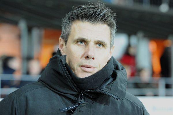 Olivier Frapolli, entraîneur du Stade Lavallois vainqueur d'Orléans pour son premier match de National 2020/2021