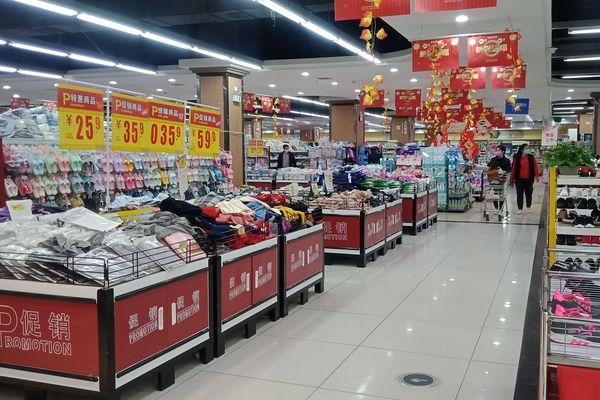 Dans un supermarché de Xianning, à la fin du confinement.