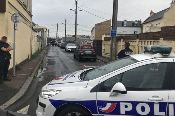 14 septembre 2021- Le Havre : opération de police rue Lucien Lévy après des coups de feu.