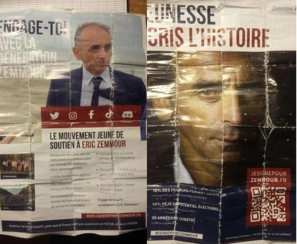 Le tract distribué aux abords du lycée Pasteur à Besançon le 14 septembre 2021.