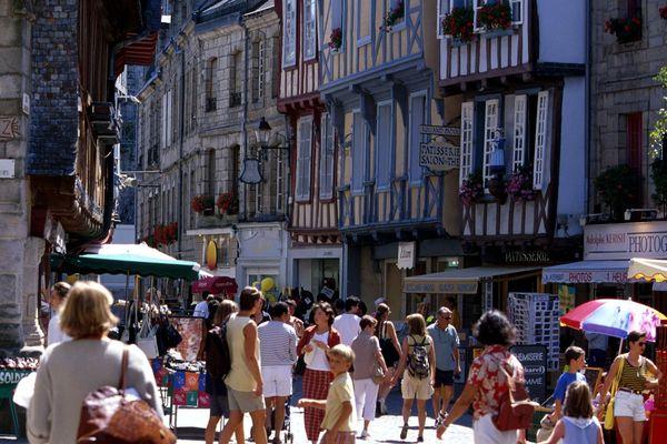 Ilustration de la ville de Quimper