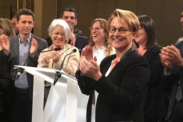 Nathalie Appéré a lancé officiellement sa campagne électorale aux municipales ce mardi 10 décembre