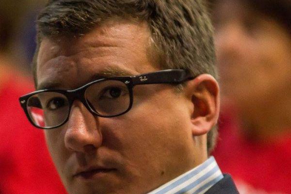 Arnaud Murgia, candidat DVD dans la 2e circonscription des Hautes-Alpes.