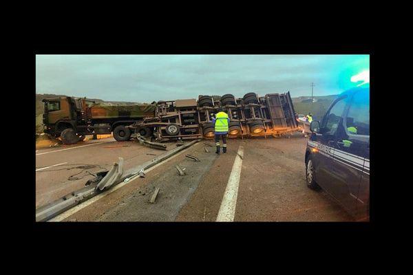 L'accident est survenu vers 5heures 50 dans l'Aube, ce vendredi 5 février.