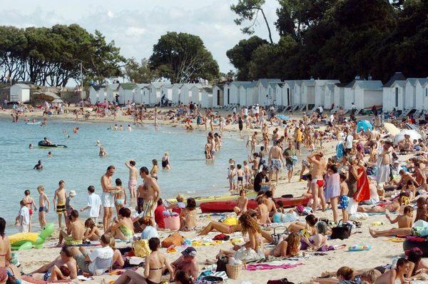 L'espoir de voir affluer maintenant les touristes sur la plage des Dames une fois le film vu.