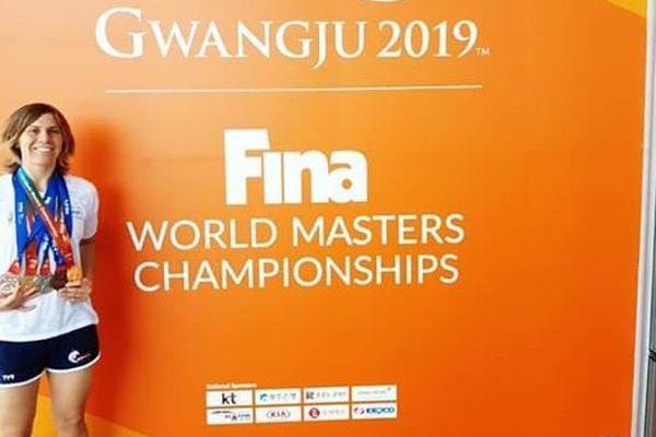 À 27 ans, Pauline Vanet a décroché cinq médailles aux championnats du monde des maîtres, dont deux en or.