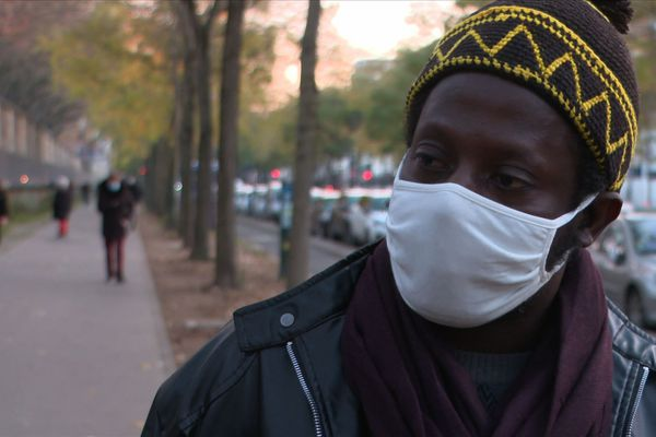 Alassane Tandian, rescapé de l'incendie.