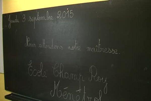 A Ménétrol, dans le Puy-de-Dôme, les parents d'élèves demandent une troisième classe de maternelle pour lutter contre le sureffectif.
