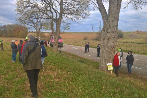 Des habitants défendent une quinzaine d'arbres contre l'abattage par VInci