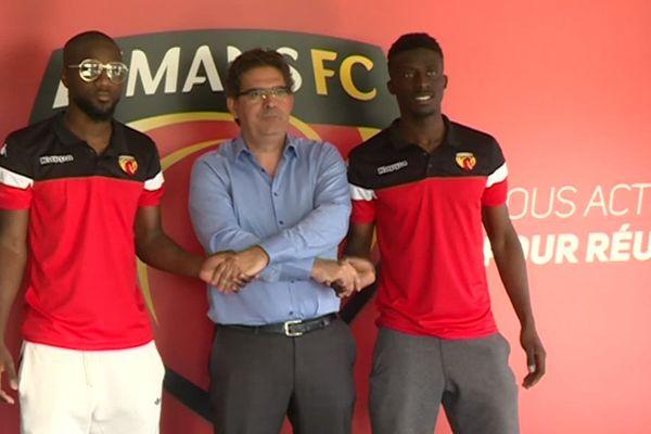 Guessouma Fofana et Aboubakary Kanté viennent renforcer l'équipe présidée par Thierry Gomez.