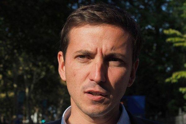 Le député LREM du Val d'Oise Aurélien Taché, septembre 2018.