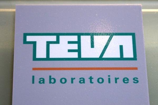 Logo du fabriquant de médicaments Teva.