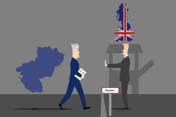 Selon les douanes, plusieurs centaines d'entreprises des Pays de la Loire ne seraient prêtes pour un Brexit dur.