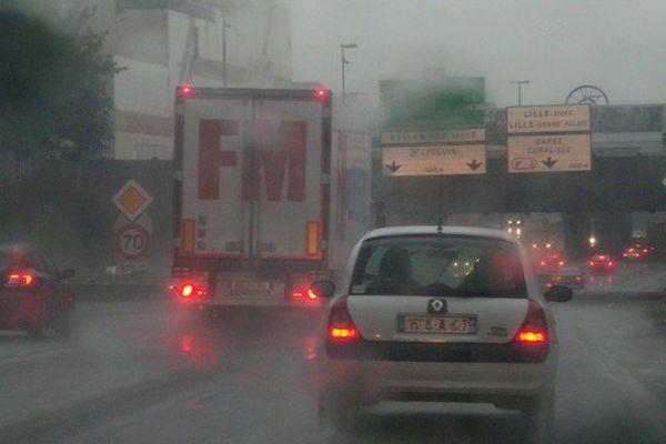 Les orages dans la métropole lilloise vendredi matin