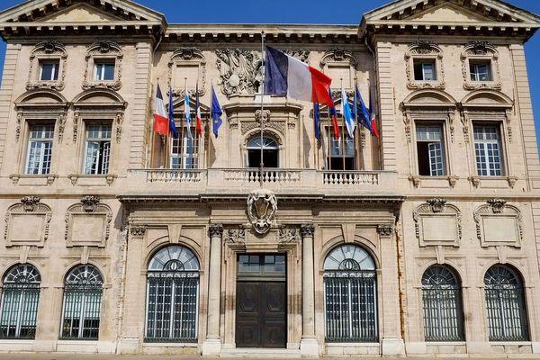La mairie de Marseille (Bouches-du-Rhône), objet de tous les enjeux des municipales 2020, à l'heure où son maire Jean-Claude Gaudin ne se représente plus.