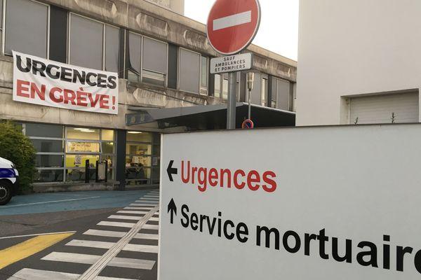 Les urgences de Mulhouse, le 30 septembre 2019.