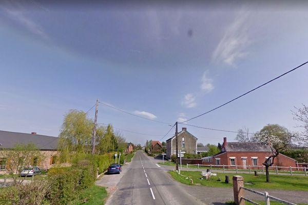 Le drame s'est produit sur la RD31 au niveau du carrefour d'Effry (Aisne), en Thiérache.