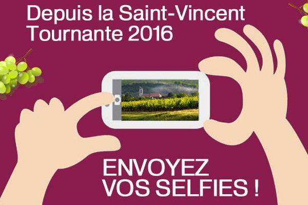 Envoyez votre selfie de la Saint-Vincent Tournante 2016