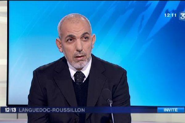 Farid Darrouf invité du JT midi du 23 novembre