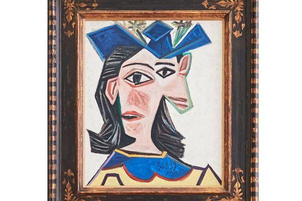 Buste de femme au chapeau (Dora), 1939, par Pablo Picasso