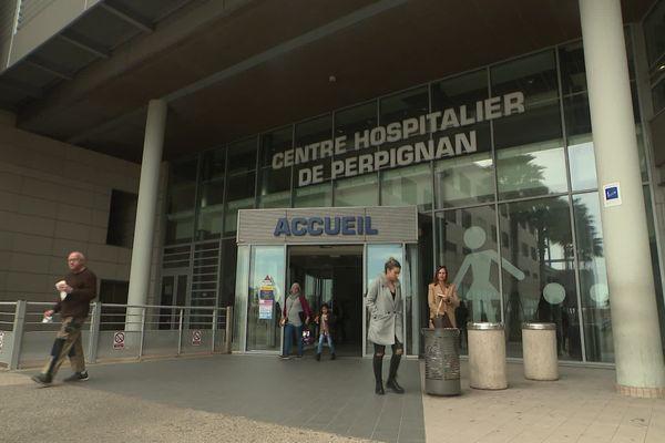 A Perpignan, l'hôpital s'organise pour éviter tout risque de contamination au Covid-19 - mars 2020