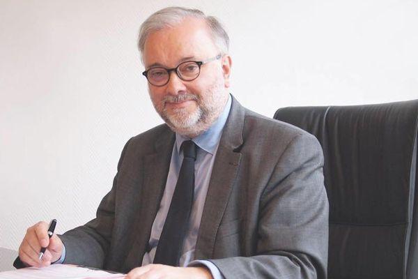 Le maire UDI de Meylan Damien Guiguet.
